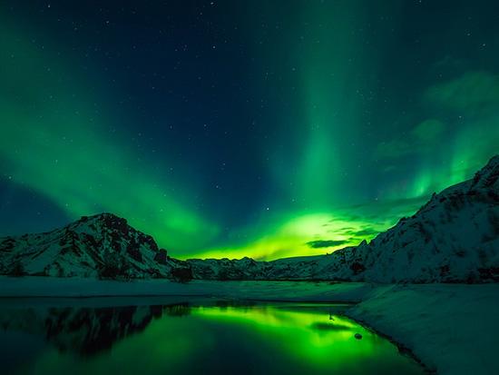 immagine per aurora boreale
