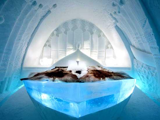 immagine per ice hotel